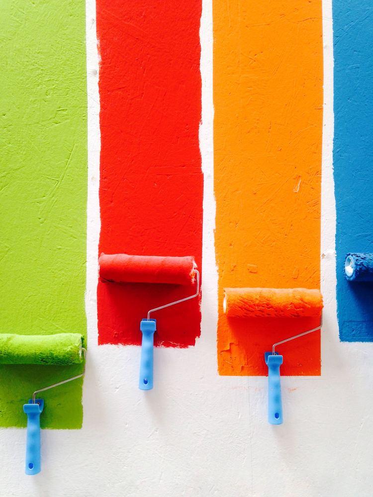 Slip for mange timers arbejde ved at hyre en professionel maler